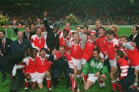 arsenal 1994 european cup