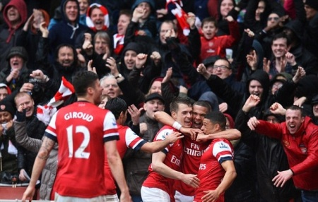 Happy gooners