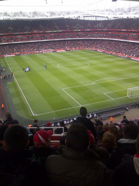 6 minutes before kick off