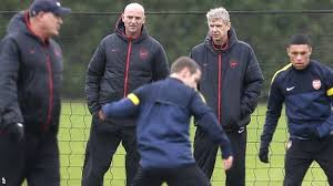 bould at training