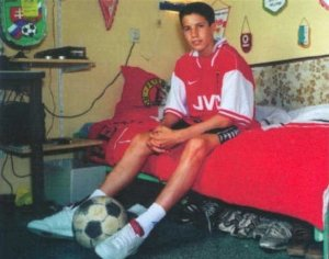 VanPersie little boy inside