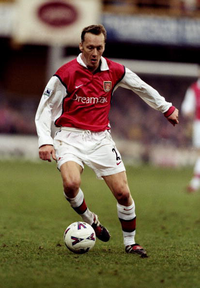 Lee Dixon of Arsenal
