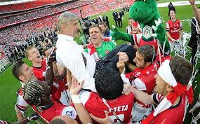 Arsene getting tossed