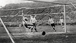 Action in 1930 World Cup Final
