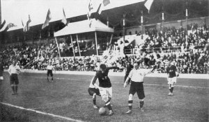Olympics 1912 Stockholm Football Final - Hoare