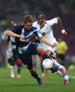 Olympics 2012 Day 1 Men Football - Aaron Ramsey