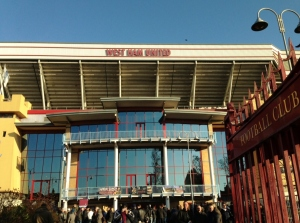 Entrance to the Boleyn Ground