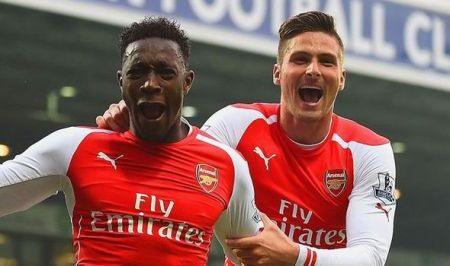 giroud and welbeck