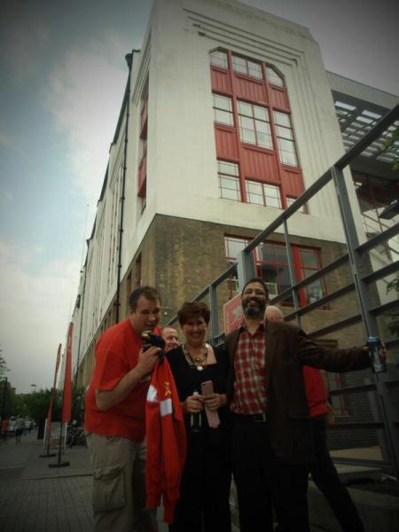 Highbury redevelopment. A view from the outside!