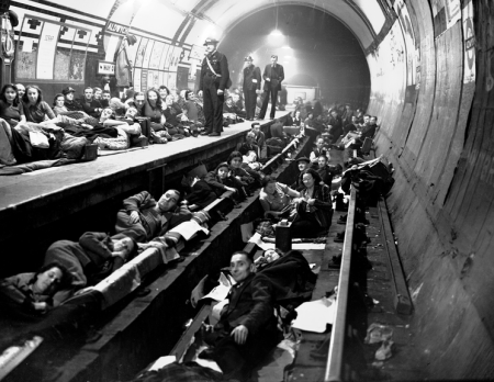 Underground during WW11