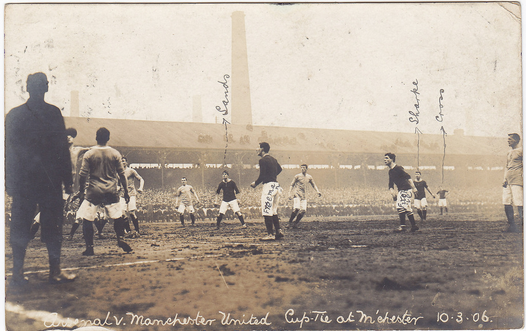 Arsenal FC – Our record against Man U in the FA Cup |
